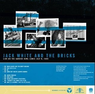 Jack White & The Bricks - Live On The Garden Bowl Lanes [LP] - comprar online