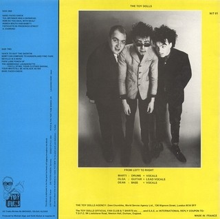 Toy Dolls - Bare Faced Cheek [LP]   na internet