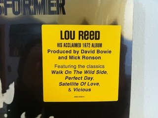 Lou Reed - Transformer [LP] na internet