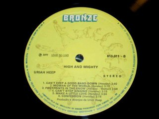 Uriah Heep ‎– High And Mighty [LP] na internet