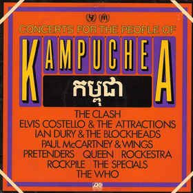 VA ‎– Concerts For The People Of Kampuchea [LP Duplo]