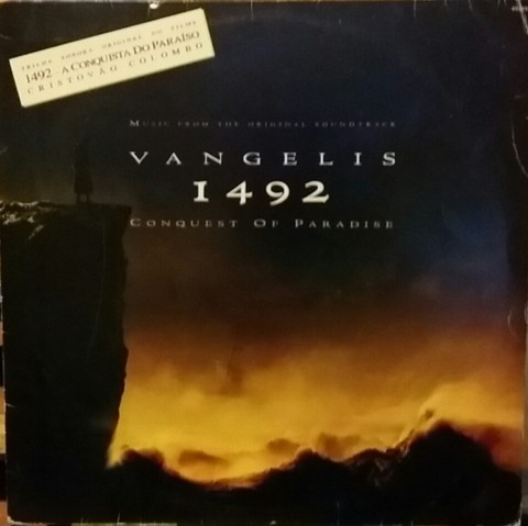 TSO - Vangelis - 1492: The Consquest Of Paradise - The Original Soundtrack [LP]