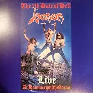 Venom - The 7th Date Of Hell Live At Hammersmith Odeon [LP]