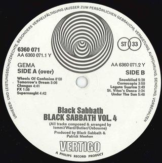 Black Sabbath - Vol. 4 [LP] - comprar online