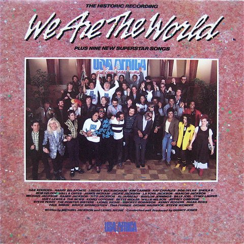 Vários Artistas - We Are The World [LP] - comprar online