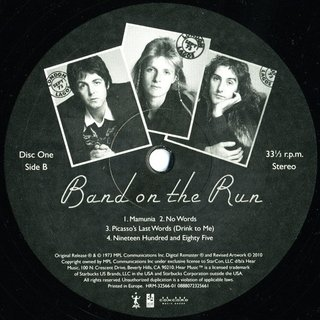 Paul McCartney & Wings - Band On The Run [LP Duplo + MP3] - 180 Selo Fonográfico