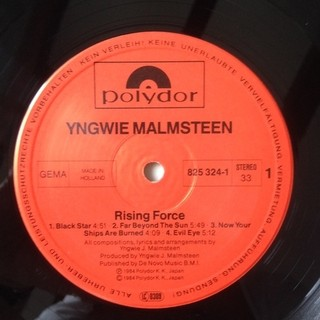 Yngwie J. Malmsteen´s Rising Force - Rising Force [LP]  na internet
