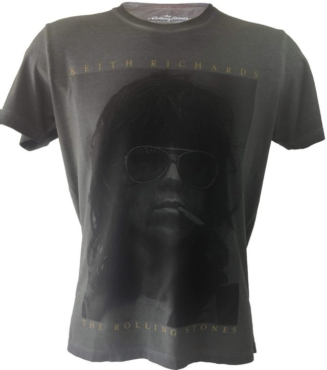 Camiseta Ellus Rock Edition Keith Richards
