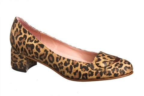 Animal Print Kelly Pumps - Ultimo 39