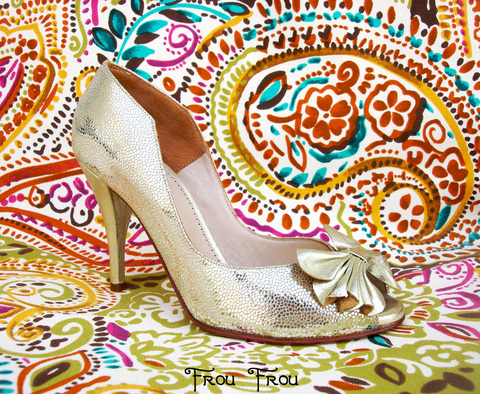 Flower Pumps Platino - online store