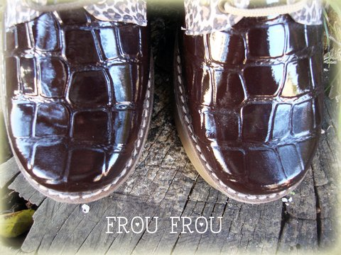 Abotinados Crocco Print - Ultimo 38 - Frou Frou | Shoes | Zapatos | Bags | Carteras