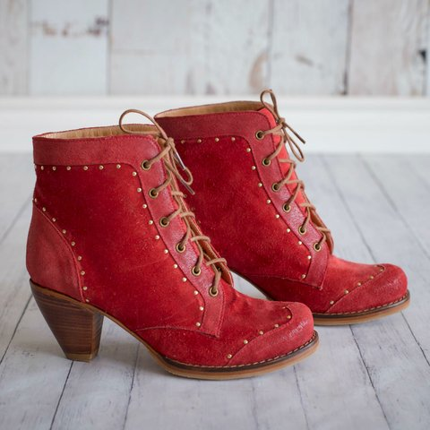 Botas Dali Red Cherry ★