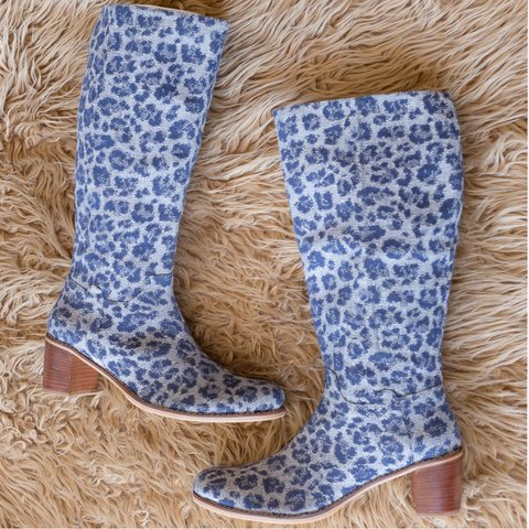 Botas MILOS Print Blue - Frou Frou | Shoes | Zapatos | Bags | Carteras