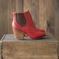 Botas RAFA Red - Frou Frou Shoes