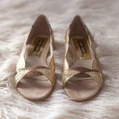 Hojitas Oro - Frou Frou Shoes
