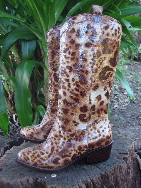 Botas Jo Animal Print - Ultimo 35 en internet