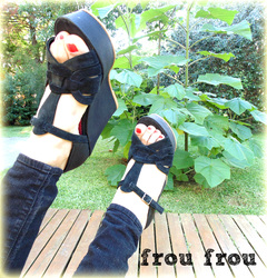 Miss Frou Frou Black ❤ - Frou Frou Shoes