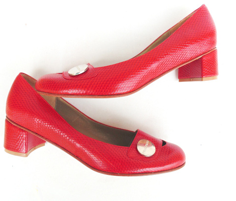 Kelly Cherry Pumps ★ Ultimo 36 on internet