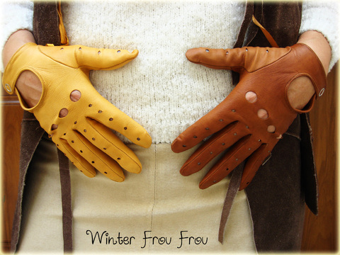 Guantes Brown