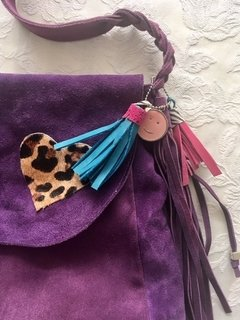 Cartera Corazon Violeta - Frou Frou | Shoes | Zapatos | Bags | Carteras