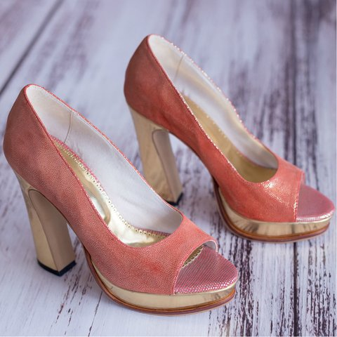 Red Cherry Pumps - Ultimo 38