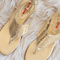 Glam Oro - Frou Frou Shoes