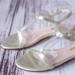 Gold Sandals - comprar online