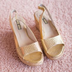 Petra Gold Sandals ♥ Summer - Numero 38