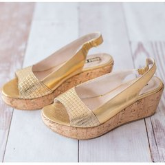 Petra Gold Sandals ♥ Summer - Numero 38 en internet