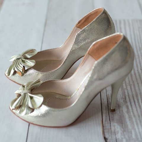 Flower Pumps Platino - Frou Frou | Shoes | Zapatos | Bags | Carteras