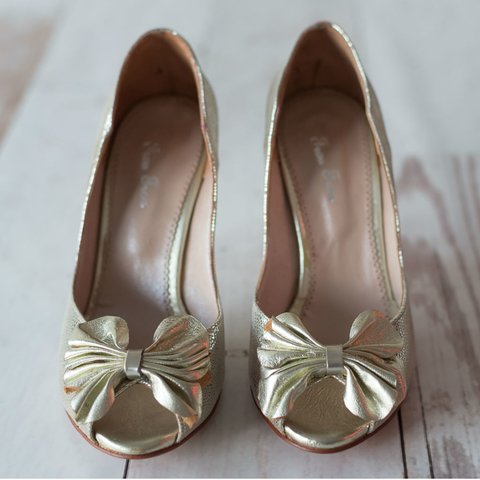 Flower Pumps Platino en internet