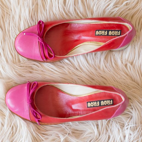 Zapatos Nicole - Pink+Red - Ultimo 38 - comprar online