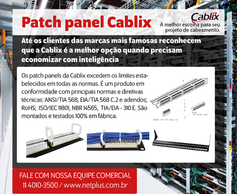 Patch panel Cablix