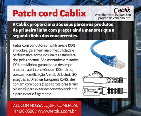 Patch cord Cablix