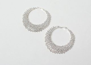 Argollas Strass
