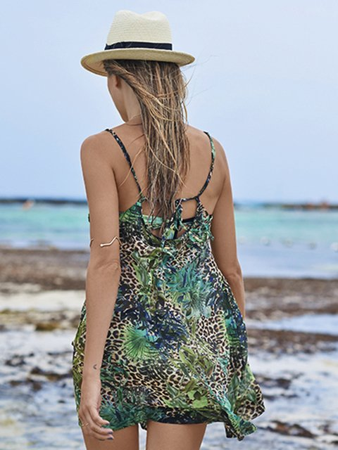 Jungle Free Sheer Dress. Malai