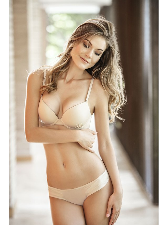 Brasier Doble Push Up Perla. Kibys - comprar online