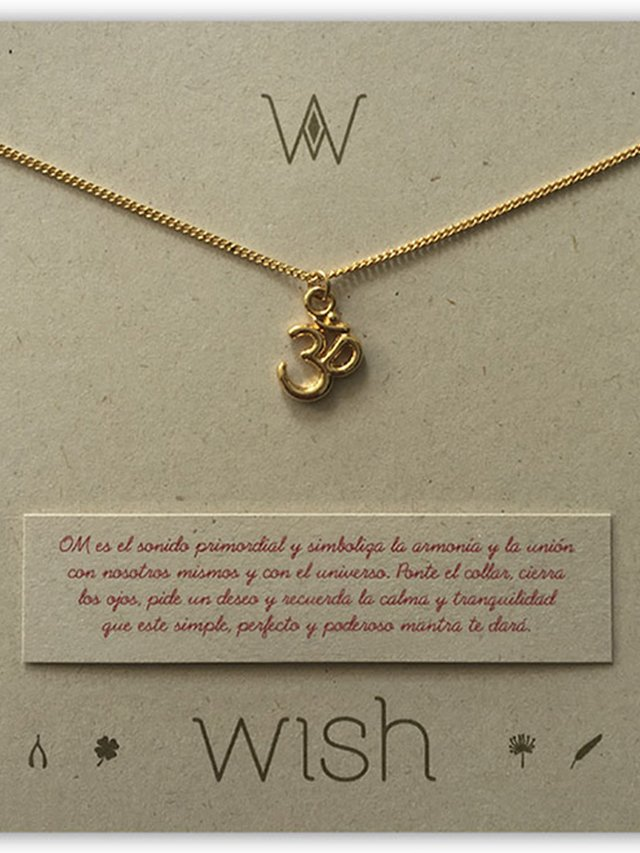 Collar Om. Wish - comprar online
