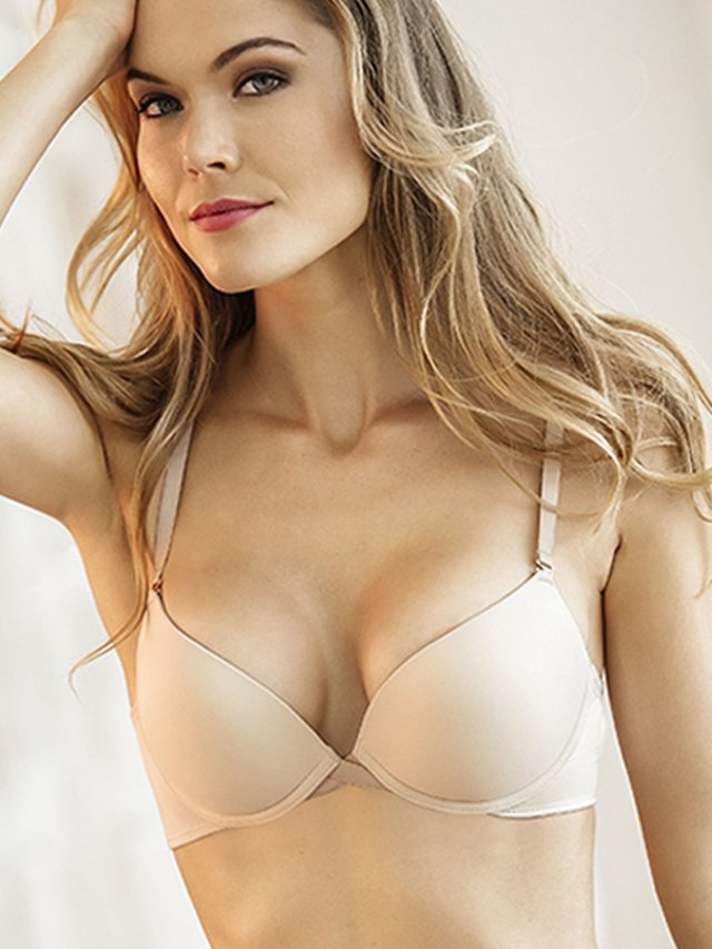 Brasier Doble Push Up Perla. Kibys