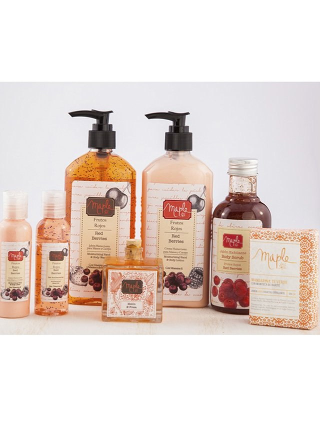 Gel Antibacterial Frutos Rojos. Maple en internet