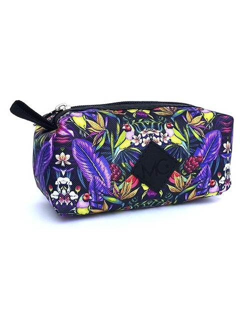 Cartuchera Pajaros Morado. MC Bags