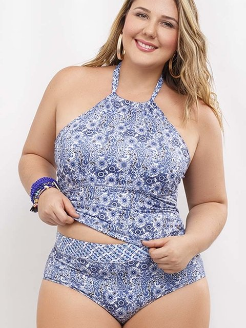 Tankini Blue Spirit. Rebell