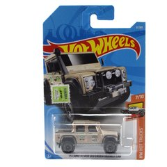 Hot Wheels Land Rover Defender Double Cab