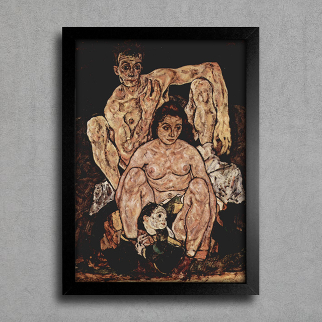 Egon Schiele - The Family na internet