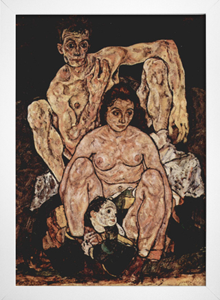 Egon Schiele - The Family - comprar online