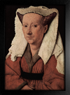 Imagem do Jan Van Eyck - Retrato de Magarete Van Eyck