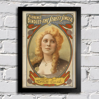 Poster Florence Bindley na internet