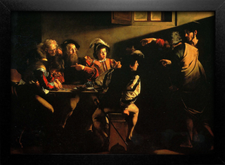Imagem do Caravaggio - Calling of St Matthew