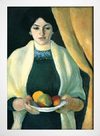 Imagem do August Macke - Portrait With Apples - Portrait of the Artist's Wife