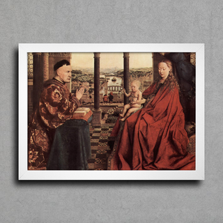 Jan Van Eyck - A Virgem do Chanceler Rolin - comprar online